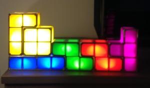 tetris building blocks lamp